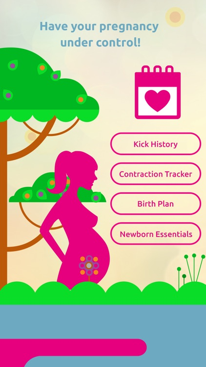Pregnancy Tracker: Contraction Timer, Kick Counter screenshot-0