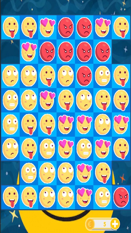 Smilies Match - Three Puzzle Game 2017 screenshot-3