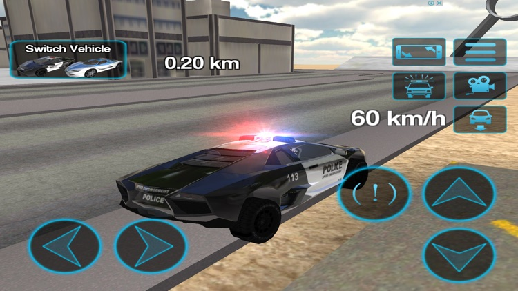 Police Car Driving Simulator screenshot-2
