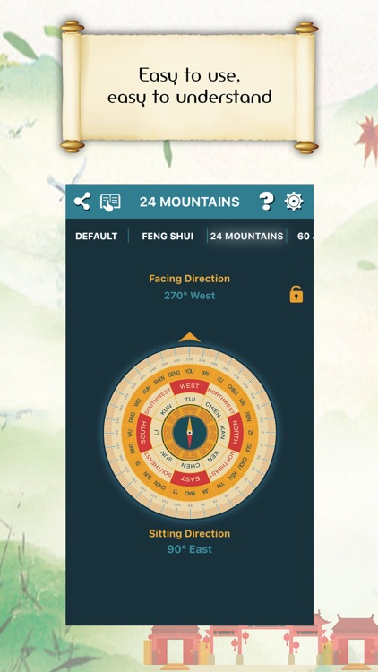 Chinese Compass Feng shui screenshot-2