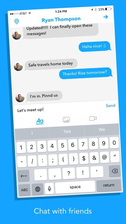 Pinnd - Social Map screenshot-4