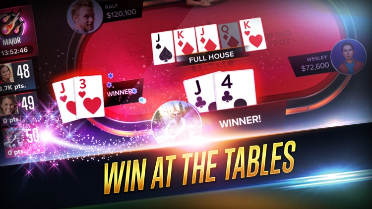Poker Heat: Texas Holdem Poker Game - VIP League screenshot-0