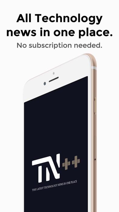 Tech News++ Screenshot