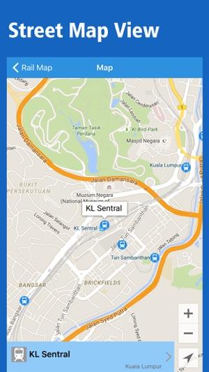 Malaysia Rail Map Kuala Lumpur Borneo on the App Store