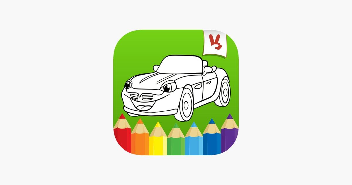 Juegos de colorear Carros en App Store