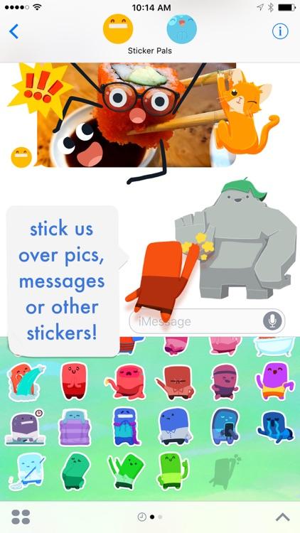 Sticker Pals! 800 Stickers from David Lanham