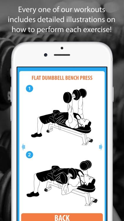 Muscle Mass Weight Lifting Routine screenshot-3
