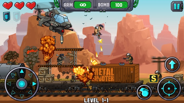 Metal Shooter: Super Commando on the App Store