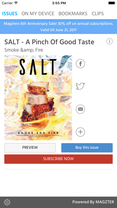 SALT - A Pinch Of Good Taste screenshot 1