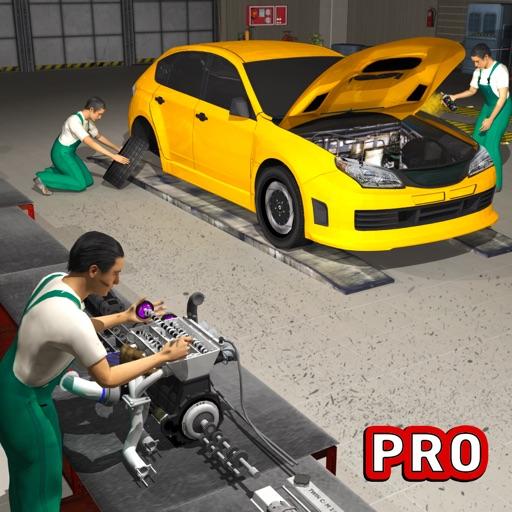 車の修理自動車整備士:カスタマイズ&テストドライブ 3D
