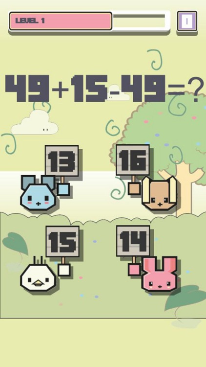Math Zoo Puzzle - Arithmetic Training Game screenshot-3