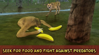 Wild Sloth Forest Survival Simulator 3D Full screenshot two