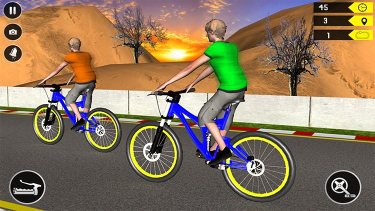Bmx Bicycle Racing - Freestyle Bicycle Race Game