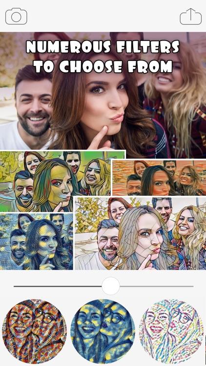 Art Filters & Effects - Cool Art Photo Editor screenshot-3