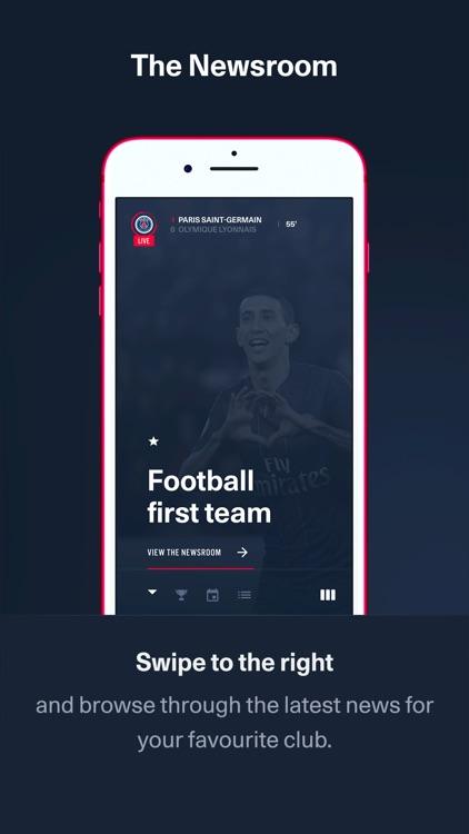 PSG Official: the Paris Saint-Germain App