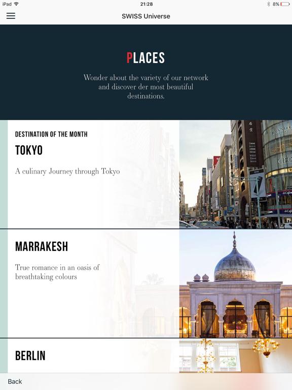 Screenshot #6 pour SWISS Universe Luxury App
