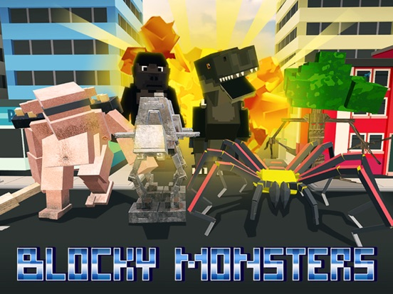 Blocky Monsters Smash screenshot 5