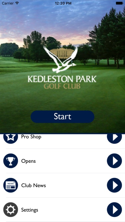 Kedleston Park Golf Club screenshot-0