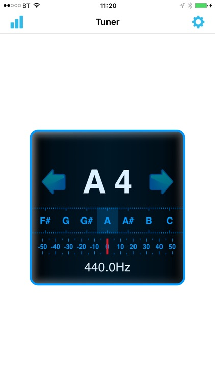 In-Tune Instrument Tuner screenshot-0