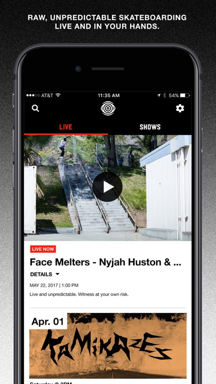 ETN - live and original skateboarding shows