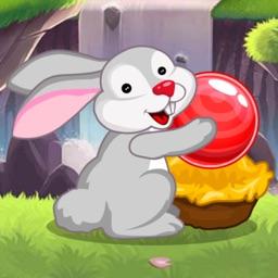 萌兔弹弹球-休闲大作战泡泡射击游戏