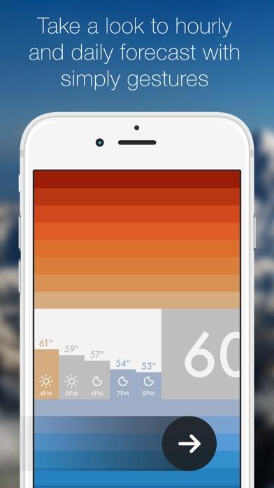 Clima ~ 天気、ただ美しくシンプル screenshot1