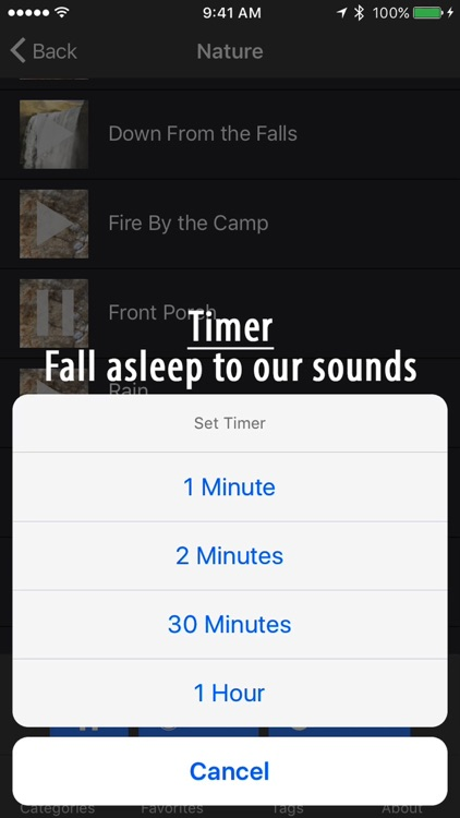 Naturesong: Authentic sound ambience to aid sleep screenshot-3