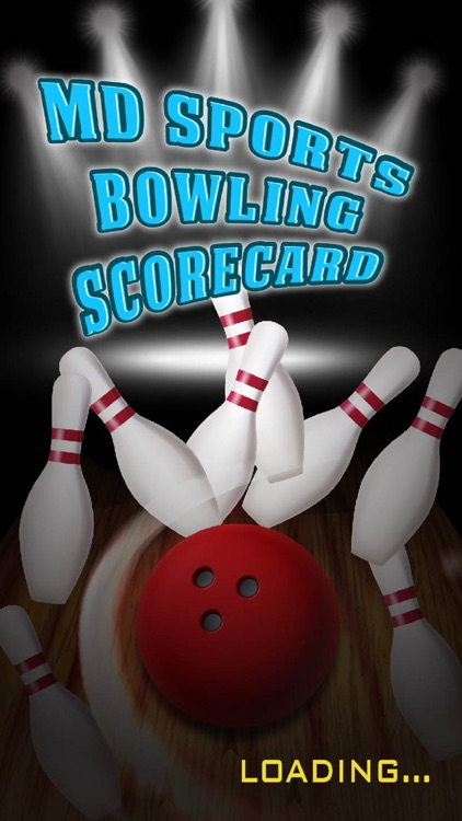 MD Sports Bowling Scorecard