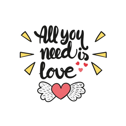 Love Quotes Stickers For IMessage By BHADRIK MEHTA