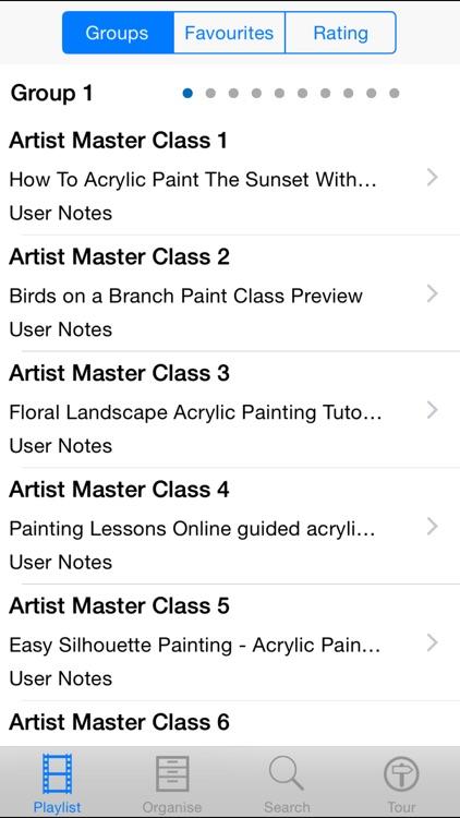 Artist Master Class