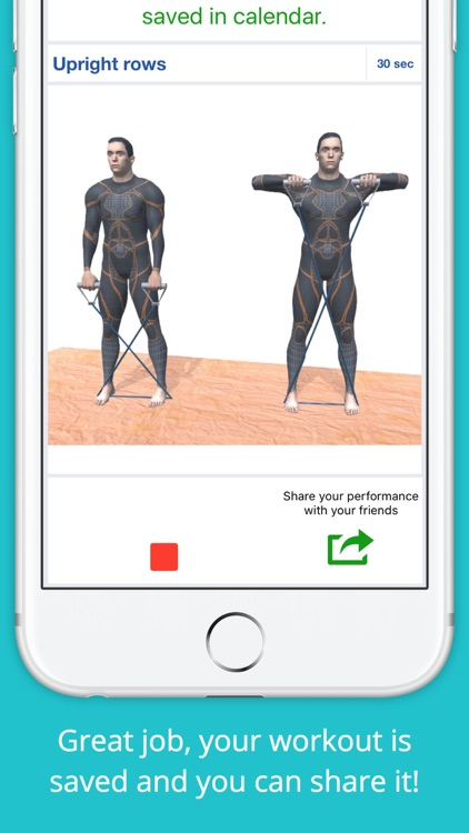 Resistance Band Workout Challenge PRO - Strength screenshot-3