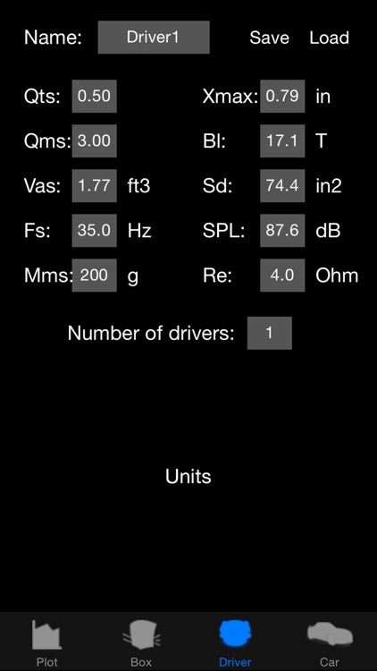 Woofer Box Calculator screenshot-3
