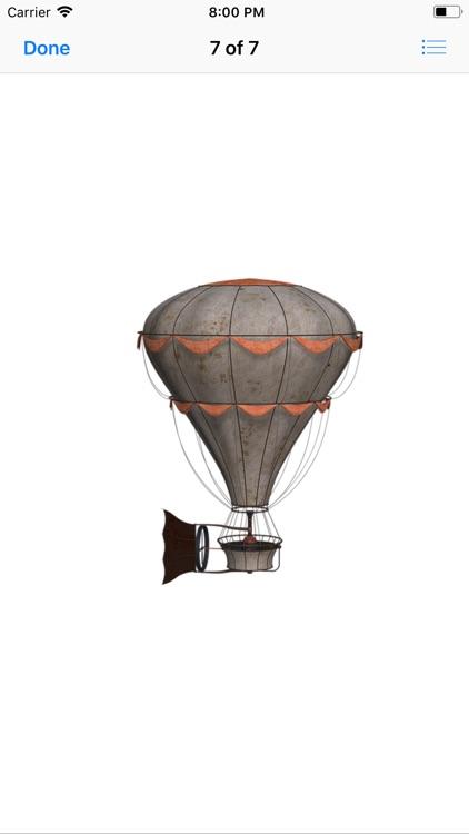 Vintage Hot Air Balloons screenshot-7