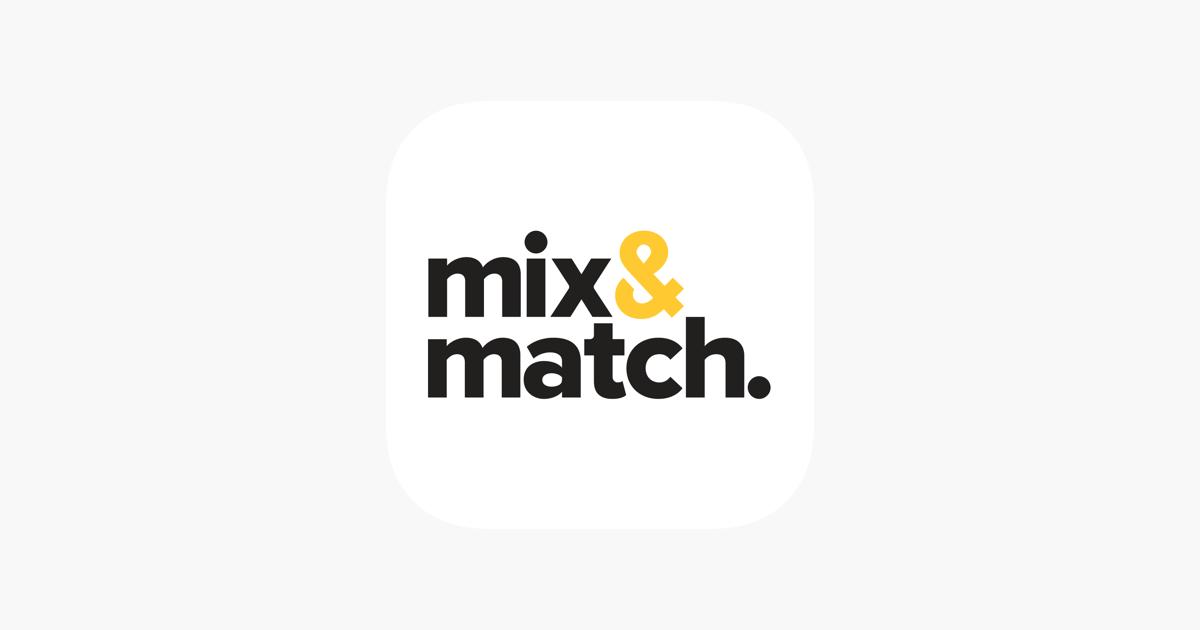 mix match をapp storeで