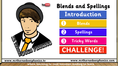Mr Thorne Does Phonics: Blends and Spellings