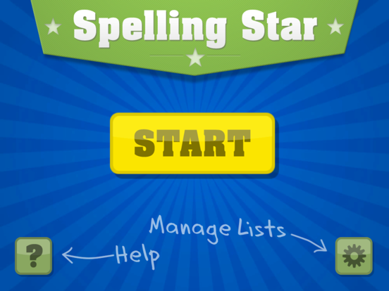 Spelling Star screenshot