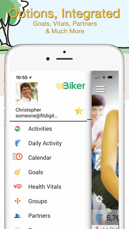 iBiker Cycling & Heart Trainer screenshot-7