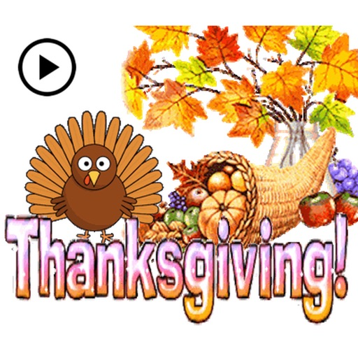 Animated Thanksgiving Sticker