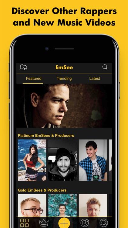 EmSee: Rap Battle Your Friends screenshot-3