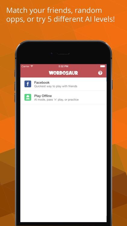 Wordosaur The Social Word Game screenshot-3