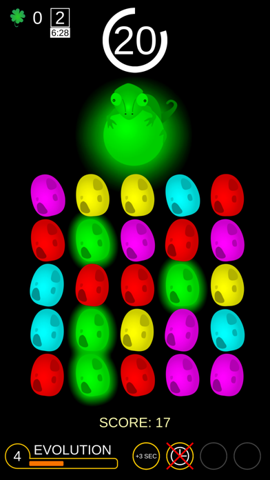 The Chameleon Orb: Color Match screenshot one