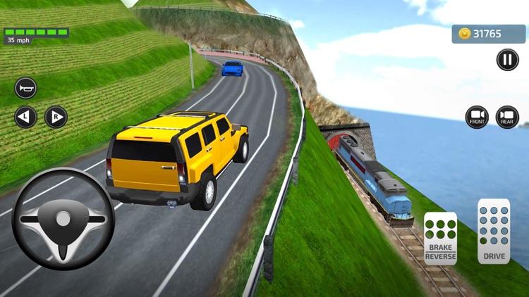 Driving Trump Car Simulator 3D screenshot-5