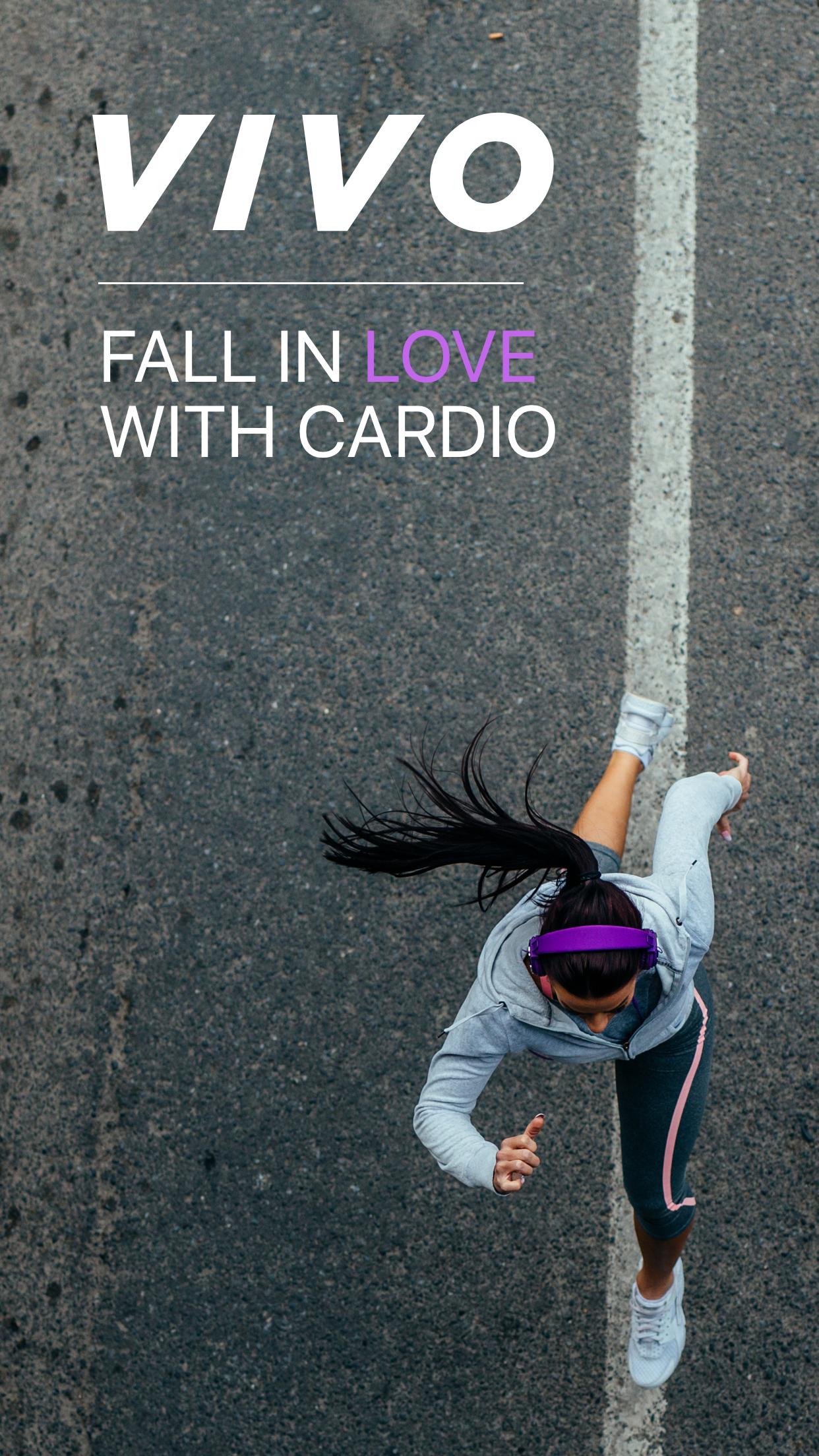 Vivo - Workouts and Fitness Screenshot
