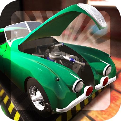 Retro Car Mechanic: Workshop