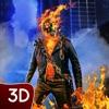 Fire Skull Superhero City Sim