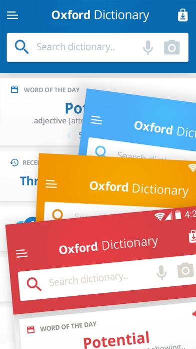 Oxford American English Screenshots