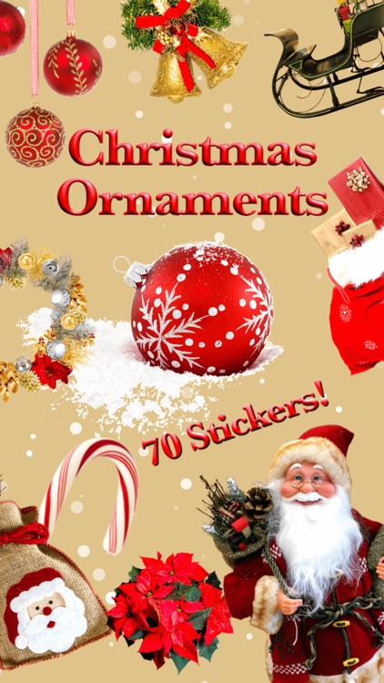 Christmas Ornaments • Stickers screenshot-0
