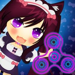 Fidget Spinner Anime Theme