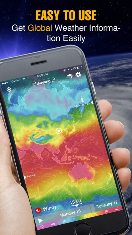Weather Radar - live satellite