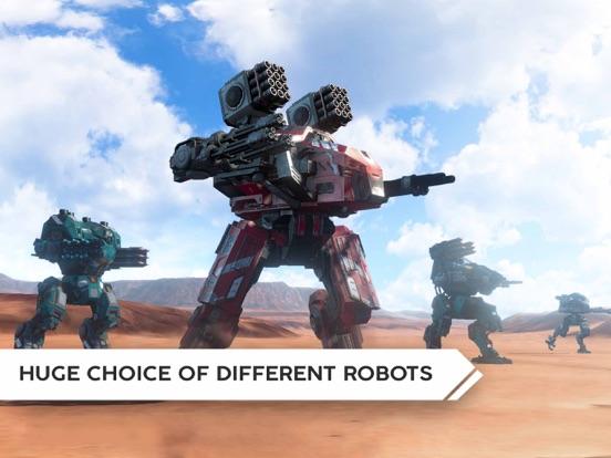 Robot Warfare: Mech Battle screenshot 13
